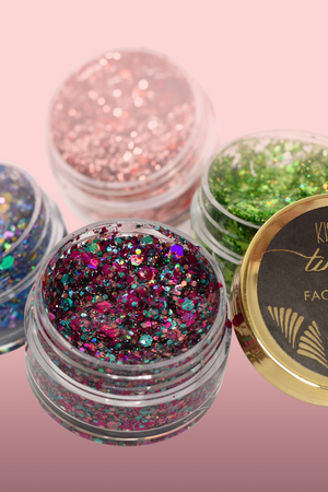 Kismet Cosmetics | Go Greek Gel Face Glitters