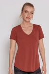 Modal V-Neck Top | Bella Lucca Boutique
