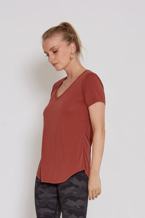 Burnt Orange Boutique Top | Bella Lucca Boutique