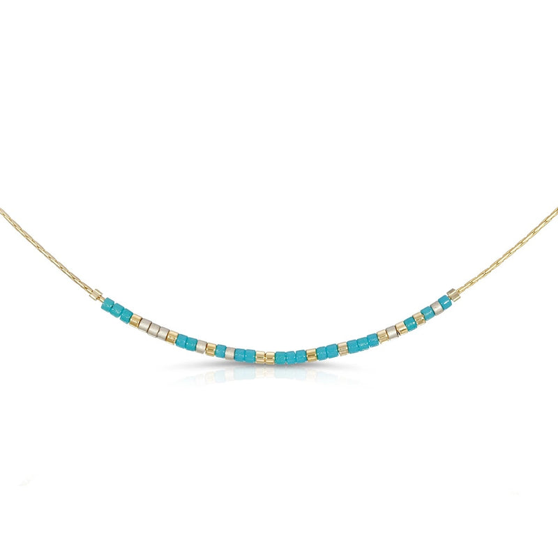 MORSE CODE NECKLACE - SOUL SISTER