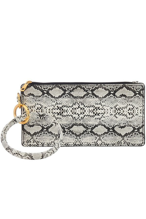 SNAKESKIN WALLET & BANGLE KEYCHAIN