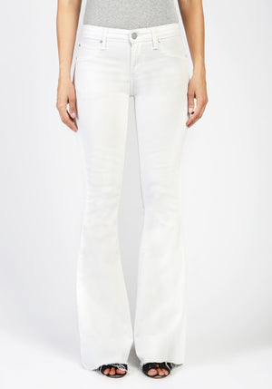 aos articles of society white denim jeans flare skinny