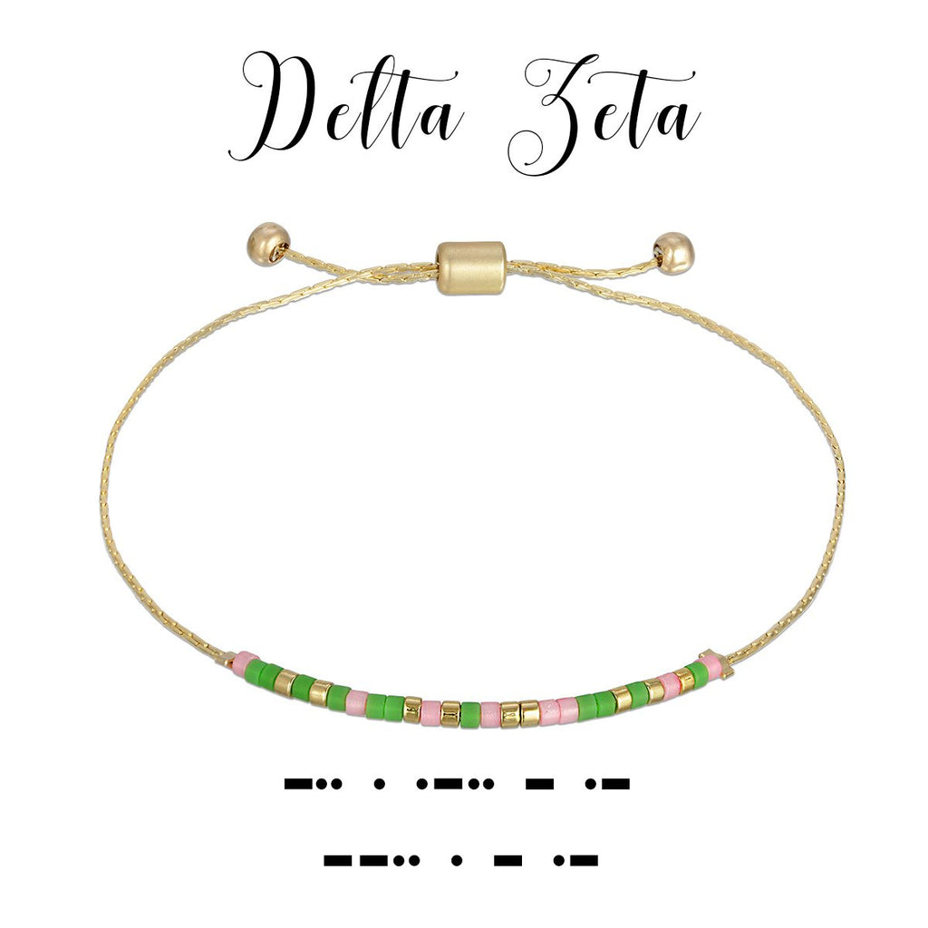 MORSE CODE SORORITY COLLECTION | DELTA ZETA