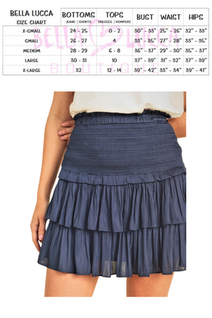 Size Guide | Bella Lucca Boutique