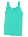 Yahada Wide Strap Seamless Tank Top-Mint