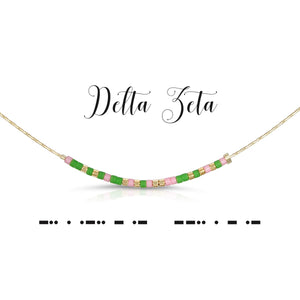 MORSE CODE SORORITY COLLECTION - DELTA ZETA