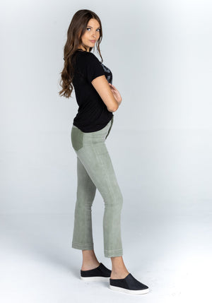 High Rise Cropped Flare Jeans | Bella Lucca Boutique