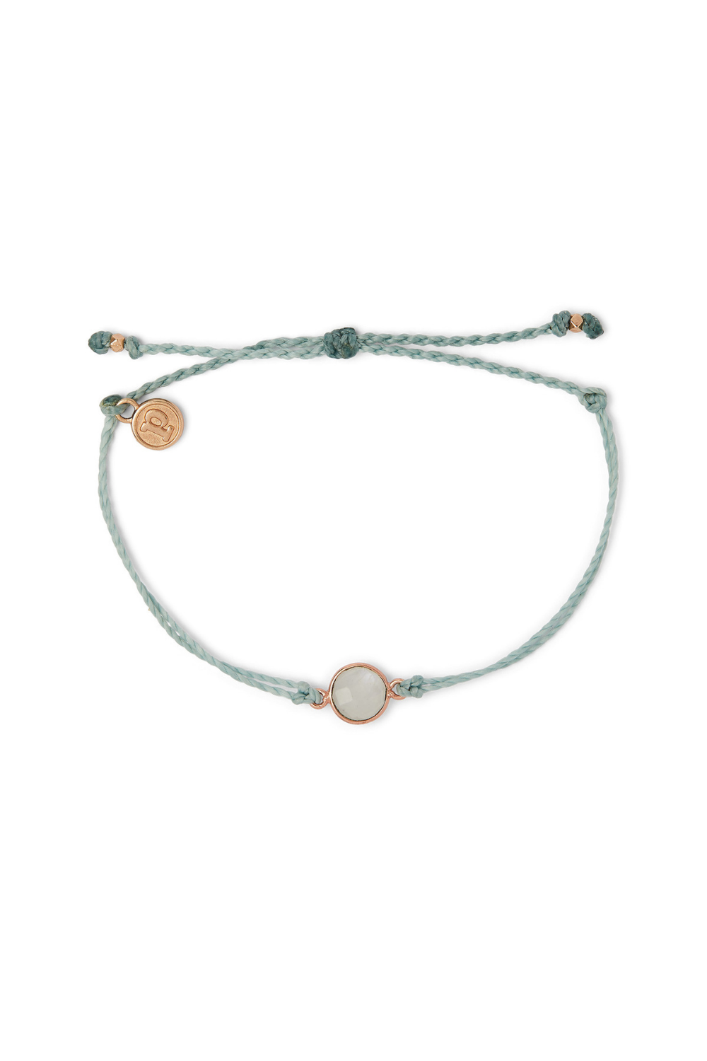 Pura Vida Rose Gold Round Moonstone Bracelet | Bella Lucca Boutique