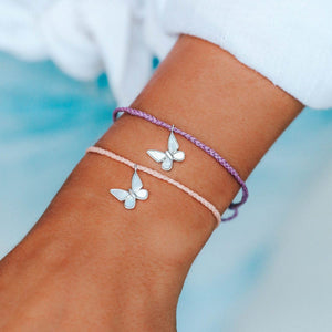 Pura Vida Save the Butterfly Charm Bracelet | Bella Lucca Boutique