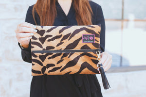 Tigress Makeup Junkie Small Bag-Bella Lucca Boutique