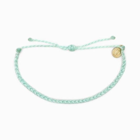 Pura Vida Mini Braided Bracelet winterfresh