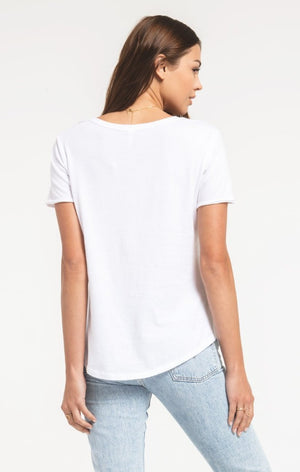 Z Supply Organic Cotton Tee | White