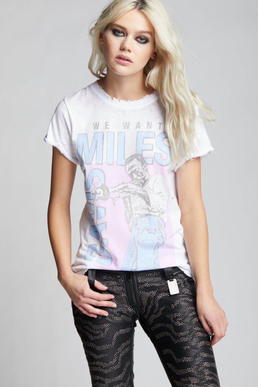 We Want Miles Davis Tee | Bella Lucca Boutique