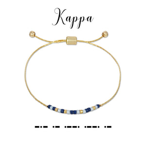 MORSE CODE SORORITY COLLECTION - KAPPA