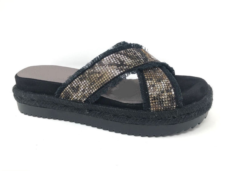 Rhinestone Sandals | Bella Lucca Boutique ALL RIGHTS RESERVED