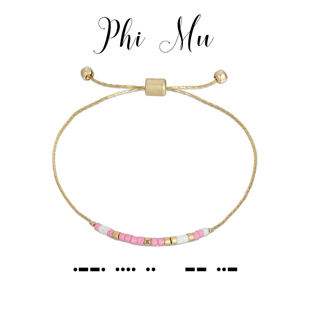 MORSE CODE SORORITY COLLECTION | PHI MU