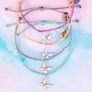 Pura-Vida-Save-the-Butterflies-Charm-Bracelet-Flat-Lay