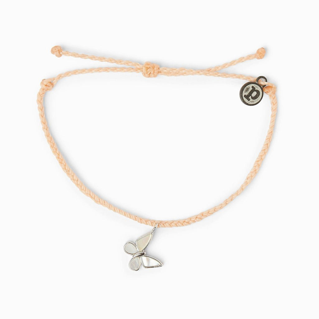 Pura-Vida-Save-the-Butterflies-Charm-Bracelet-Blush