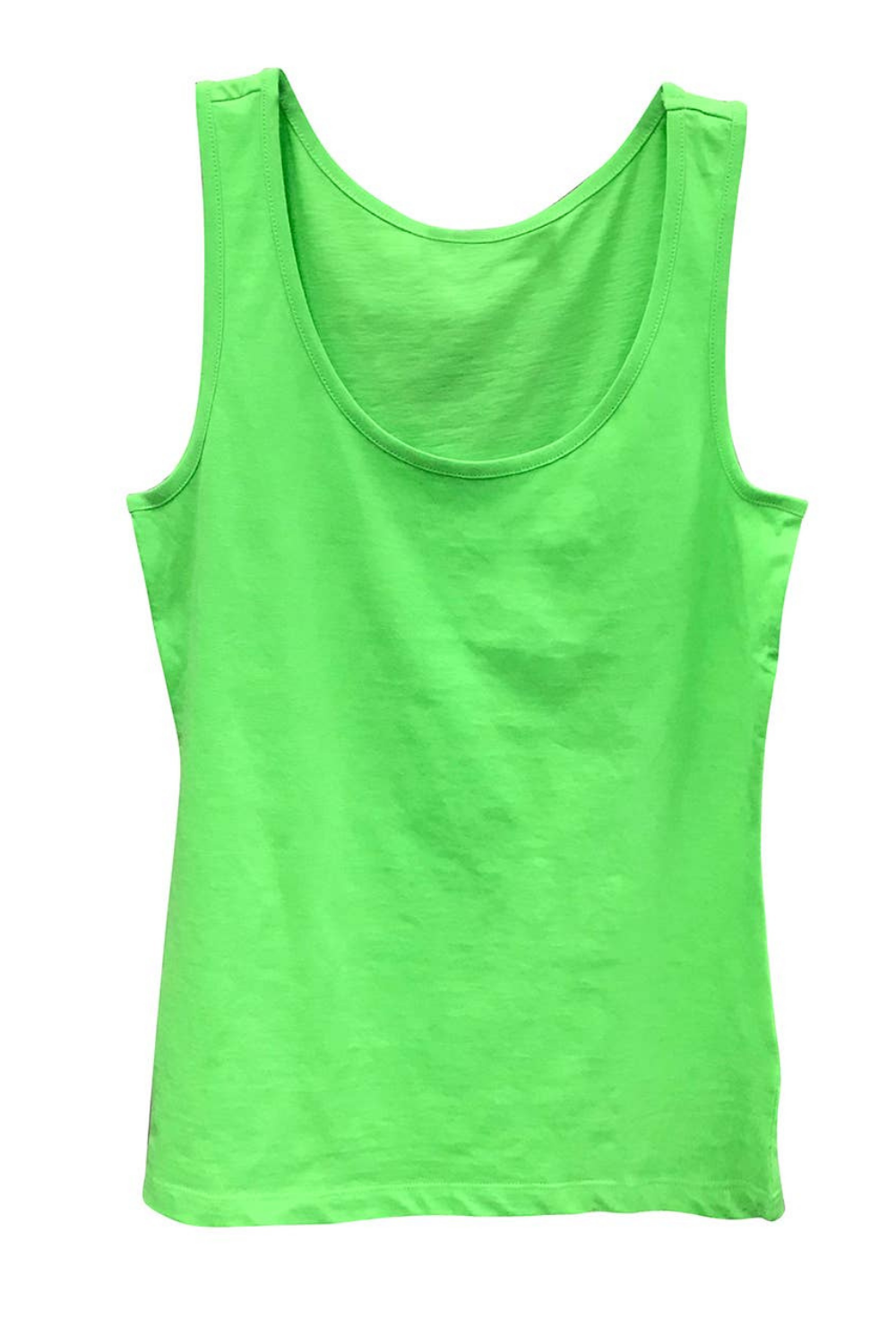 Boutique Tank Top Fluorescent Green | Bella Lucca Boutique