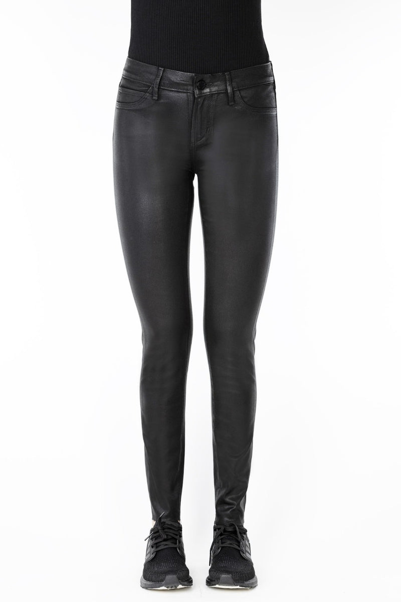 SARAH ANKLE SKINNY | BLACK DIAMOND COATED