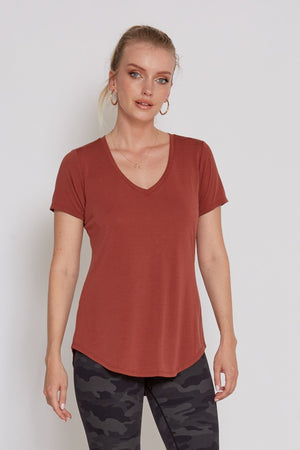 Rust Top | Bella Lucca Boutique