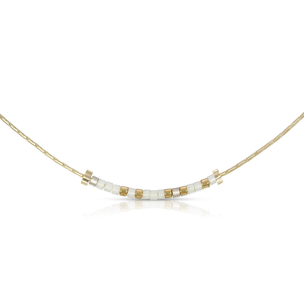 MORSE CODE NECKLACE - BESTIE