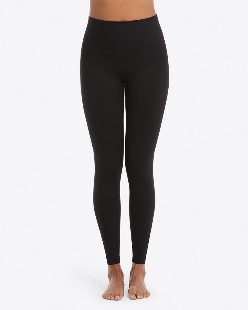 Spanx Look at Me Now Seamless Leggings Black Front
