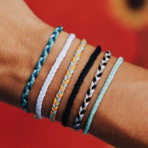 pura vida mini bracelet braided colorful beach vibes wrist candy