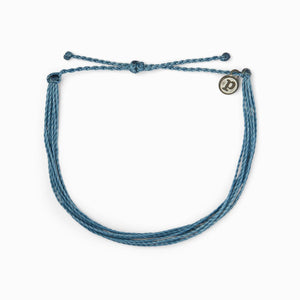 PURA VIDA ANKLET - DUSTY BLUE