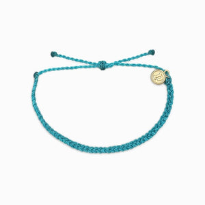 pura vida mini bracelet braided colorful beach vibes wrist candy blue burgundy