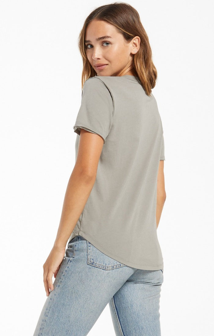 Z Supply Organic Cotton Tee | Bella Lucca Boutique