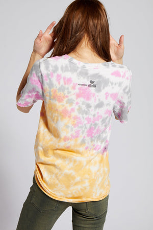 Recycled Karma Woodstock Peace Love Music Tie Dye Tee