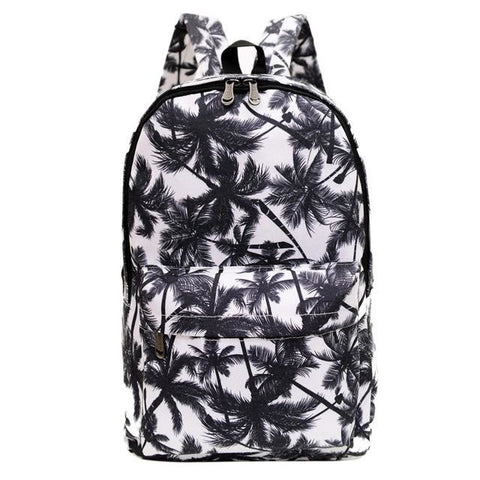 Backpack Summer Time Coconut Tree