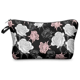 Cosmetics Bag 3D The Flowers Hzb795