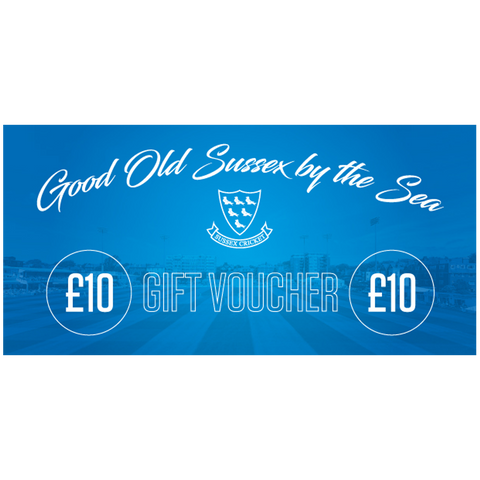 Sussex Cricket Gift Voucher