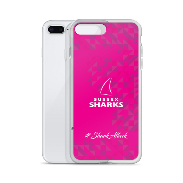 #SharkAttack iPhone Case - Pink
