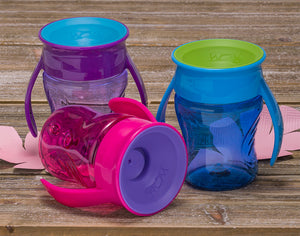 WOW CUP for Baby Transition Cup color options