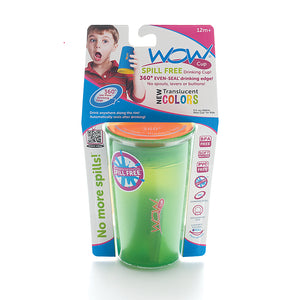 JUICY! WOW CUP 360 Training Cup - Translucent GREEN - 9 oz