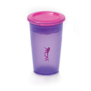 JUICY! WOW CUP 360 Training Cup - Translucent PURPLE - 9 oz