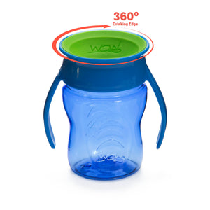 WOW CUP for Baby 360 Transition Cup - Blue, 7 oz. /207 ml