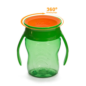 WOW CUP for Baby 360 Transition Cup - Green, 7 oz. /207 ml