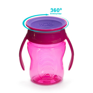 WOW CUP for Baby 360 Transition Cup - Pink, 7 oz. /207 ml