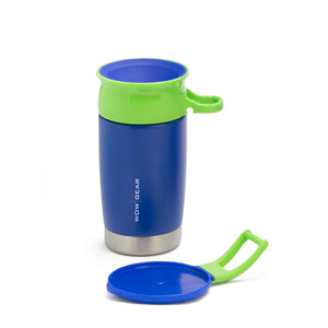 WOW KIDS Sports Bottle - Stainless Insulated 300 ML / 10 OZ - Blue