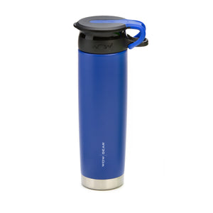 WOW GEAR Stainless Insulated 360 Sports Bottle - Blue, 22 OZ / 650 ML