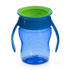 WOW CUP for Baby Transition Cup - Blue/Green