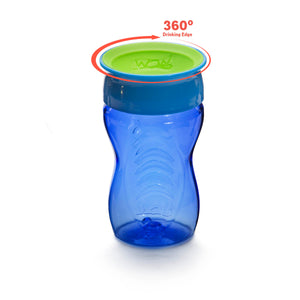 WOW CUP for Kids 360 Drinking Cup - Blue, 10 oz. /296 ml