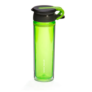WOW GEAR 360° Double-Walled TRITAN™ Sports Bottle - Green, 20 OZ / 600 ml