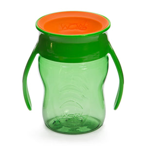 WOW CUP for Baby Transition Cup - Green/Orange