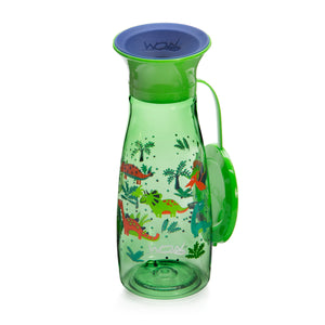 WOW CUP Mini - Green Dinosaurs, 12 oz/350 ml