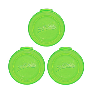 WOW CUP Travel Lids - 3 Pack - Green